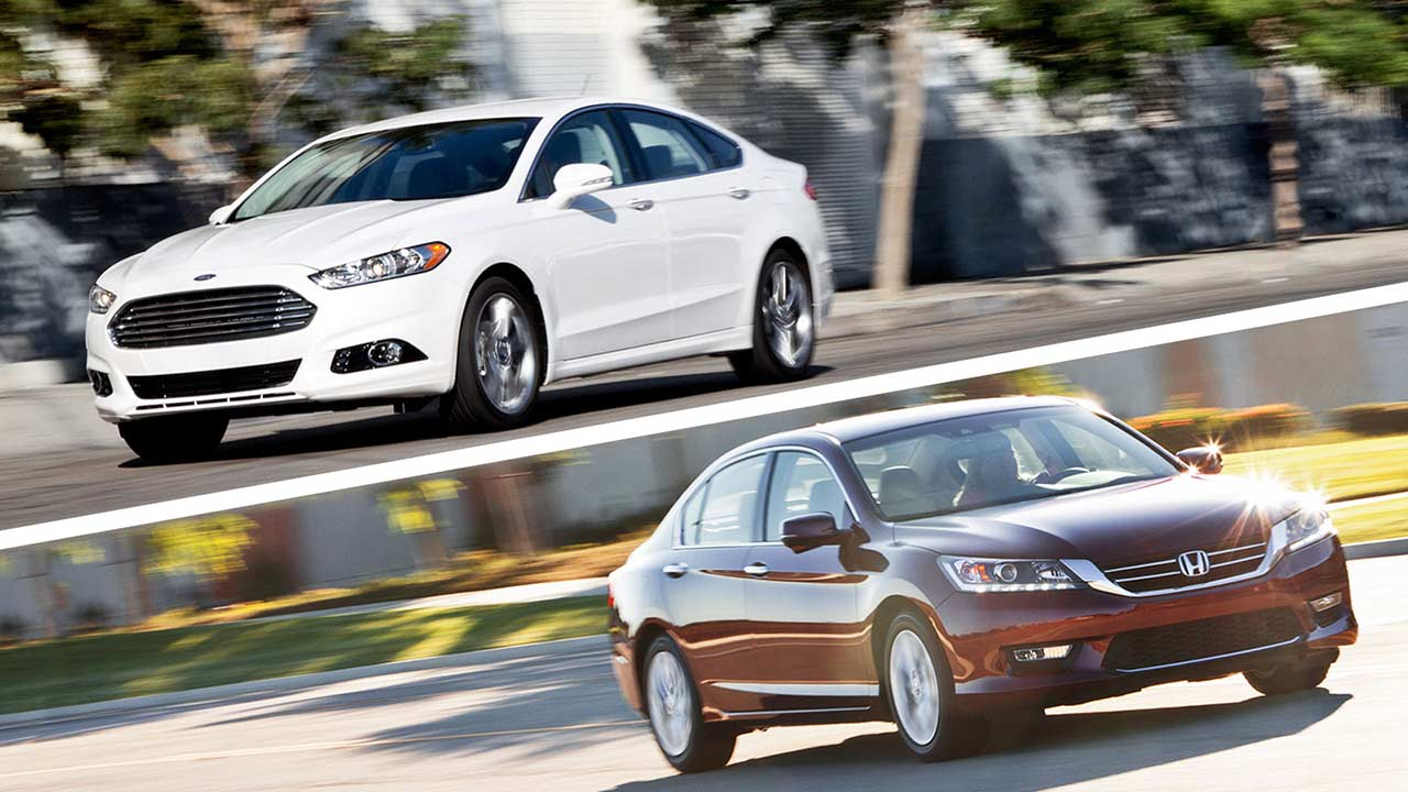 Honda Accord vs Ford Fusion | Which Sedan Belongs In Your Garage? Edmunds .com